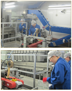 Pitta bread manufacturing